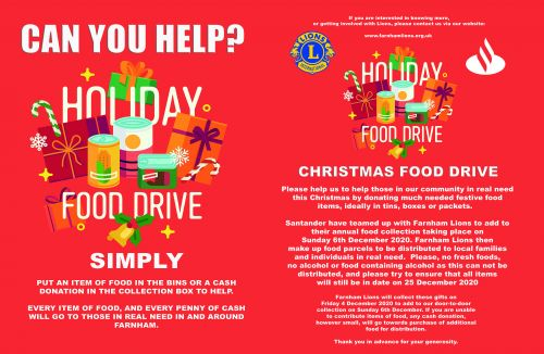 2Food Drive POSTER