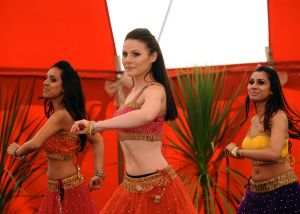 The Bollywood dancers in 2015