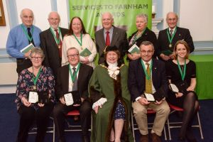 Farnham Town Council Good Citizens 2016