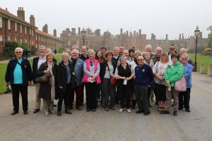 Group at Hampton Court