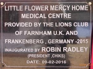 Medical Centre Plaque