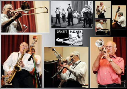 Gambit Jazzmen Collage