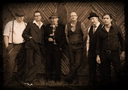 The New Hawleans Jug band photo.