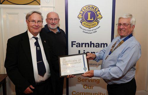 over 50 groups farnham
