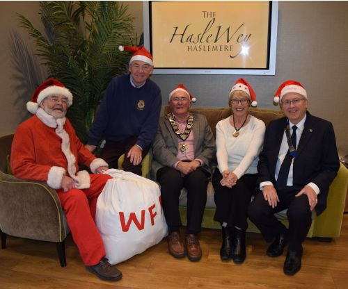 2017 Wenceslas launch in Haslemere