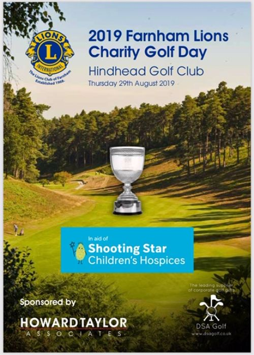 2019 Golf Day Program